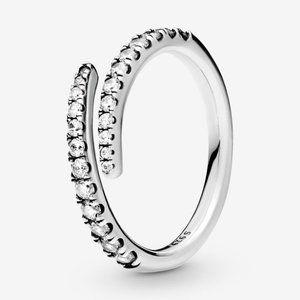 🍓Pandora Lines of Sparkle Ring